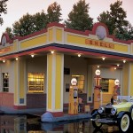 Shell 1930s Gas Station